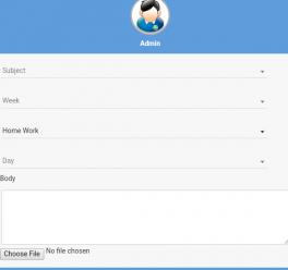 Teacher Mobile Application